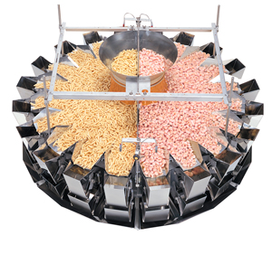 Mixing 2 Products with a Yamato Combination Weigher