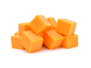 Cheddar Cubed Cheese